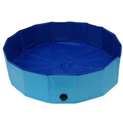 캠프 반려동물용 욕조 애견풀장-120cm강아지수영장 매트