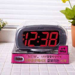 현정840전기전자탁상시계 (색상랜덤)