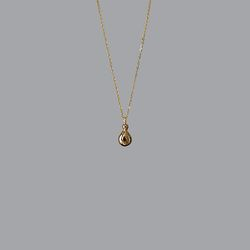 Tear Necklace (Gold)
