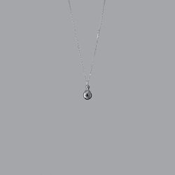Tear Necklace (Silver)