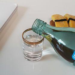 볼드 골드라인 소주잔 양주잔
