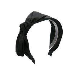 pocono ribbon hairband(black)