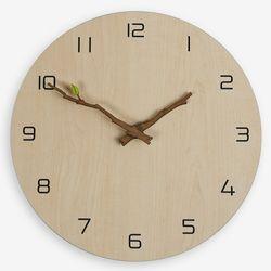 (ktk156)저소음 내추럴브랜치 시계