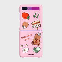 Strawberry time-pink(Z플립-하드)