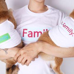 패밀리 티셔츠(스카이블루)