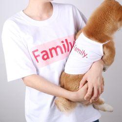 패밀리 티셔츠(핑크)