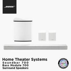 [BOSE] 보스 정품 사운드바 + 베이스모듈 700 + 서라운드 스피커