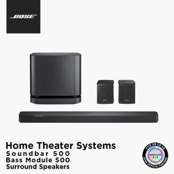 [BOSE] 보스 정품 사운드바 + 베이스모듈 500 + 서라운드 스피커
