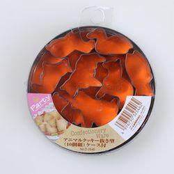 파티 스텐 모양틀(10P) - 동물모양