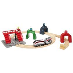 브리오 스마트테크 액션 터널 전동기차 세트 33873
