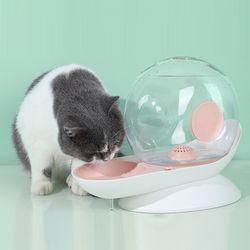 펫데일리 강아지 고양이 사이펀 달팽이 자동급수기 2.8L