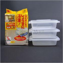 니톰 일본 밥팩 L (3P세트) 다용도 밀폐용기