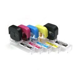5색 캐논 980 981용 원터치 자동 잉크 충전기