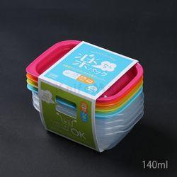 일본 4색 락싱팩 140ml (4P세트) - 직사각
