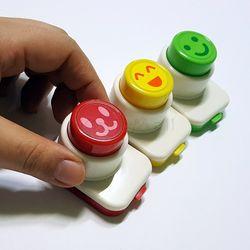 일본 싱글벙글 펀칭기(3P) 아이도시락데코 주먹밥데코