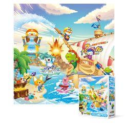 240피스 직소퍼즐 - 뽀로로 해적섬의 여름 (미니)