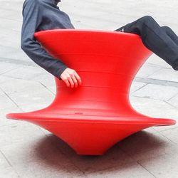 오뚝이 빙글 빙글 팽이 의자