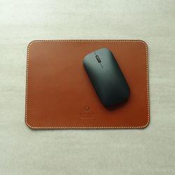 천연가죽 마우스패드 MousePad Simple [Burnt Oak]