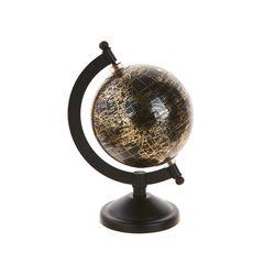 지구본 10cm (블랙)