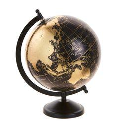 지구본 20cm (블랙)
