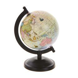 지구본 15cm (앤틱)