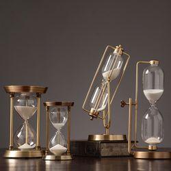 인테리어 엔틱 모래 시계