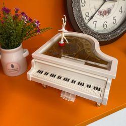 감성 발레리나 피아노 오르골 WG038