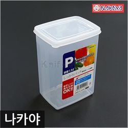 일본 나카야 사각 밀폐용기 P