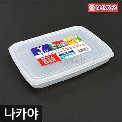 일본 나카야 사각 밀폐용기 Y (육류보관용)