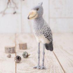 하마나카 양모펠트 넓적부리황새 DIY 키트