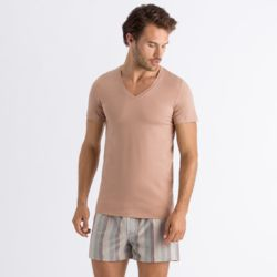Cotton Superior SSLV Shirt V-Neck NETURAL