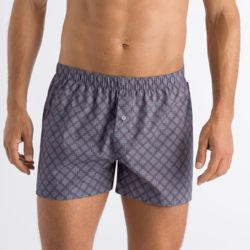 [HANRO 한로] Fancy Woven Boxers 2Pack SET