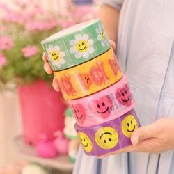 afrocat box tape ( smile series )