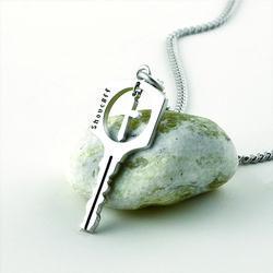 SVN-153 십자가 열쇠 목걸이