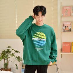 [GBM]그리드 맨투맨 2colors 티셔츠