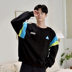 [GBM]레트로 컬러 맨투맨 2colors 티셔츠