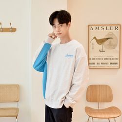 [GBM]포인트 컬러 맨투맨 2colors 티셔츠