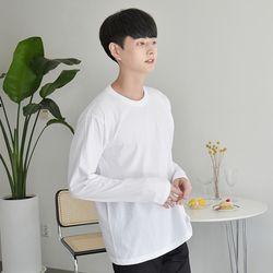민무늬 긴팔티 (4colors) 티셔츠