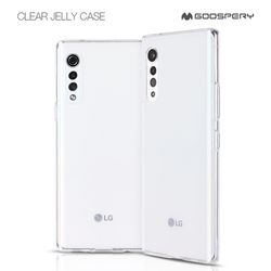 LG VELVET 머큐리 클리어 투명 젤리 케이스