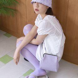 Olsen frame mini bag (Violet)