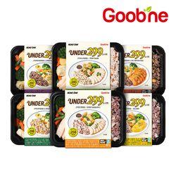 굽네 UNDER299 곤약영양밥&닭가슴살 도시락 6종 10팩 골라담기