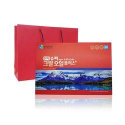 [특가/무료배송] 슈퍼 크릴오일 플러스 1000mg x 24캡슐 x 5박스 +쇼핑백포함