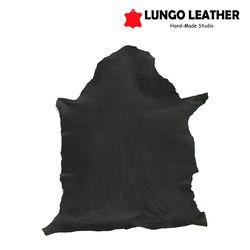 천연 양가죽 한마리 무광 블랙
