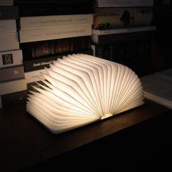 무아스 북라이트 LED 충전식 무드등-미디엄