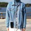 핸드폰 목걸이 케이스 젤하드 투명 - 갤럭시 S7