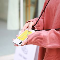 핸드폰 목걸이 케이스 포켓카드케이스 - 갤럭시 S8