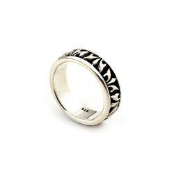 SVR-S601 Geometric Ring (Silver 925)