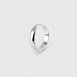 SVR-S611 Thin Plain Ring (Silver 925)