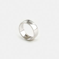 SVR-S613 Thick Plain Ring (Silver 925)