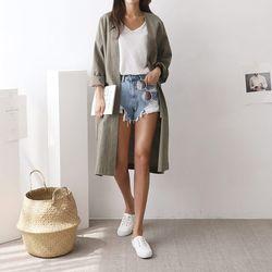 Summer Oversized Long Jacket
